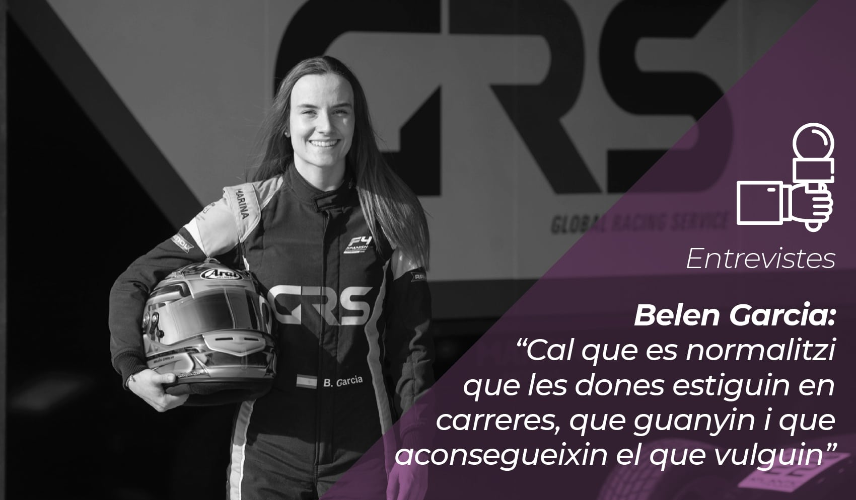 """Belen Garcia: """"Cal que es normalitzi que les dones estiguin en carreres, que guanyin i que aconsegueixin el que vulguin"""" 8"""