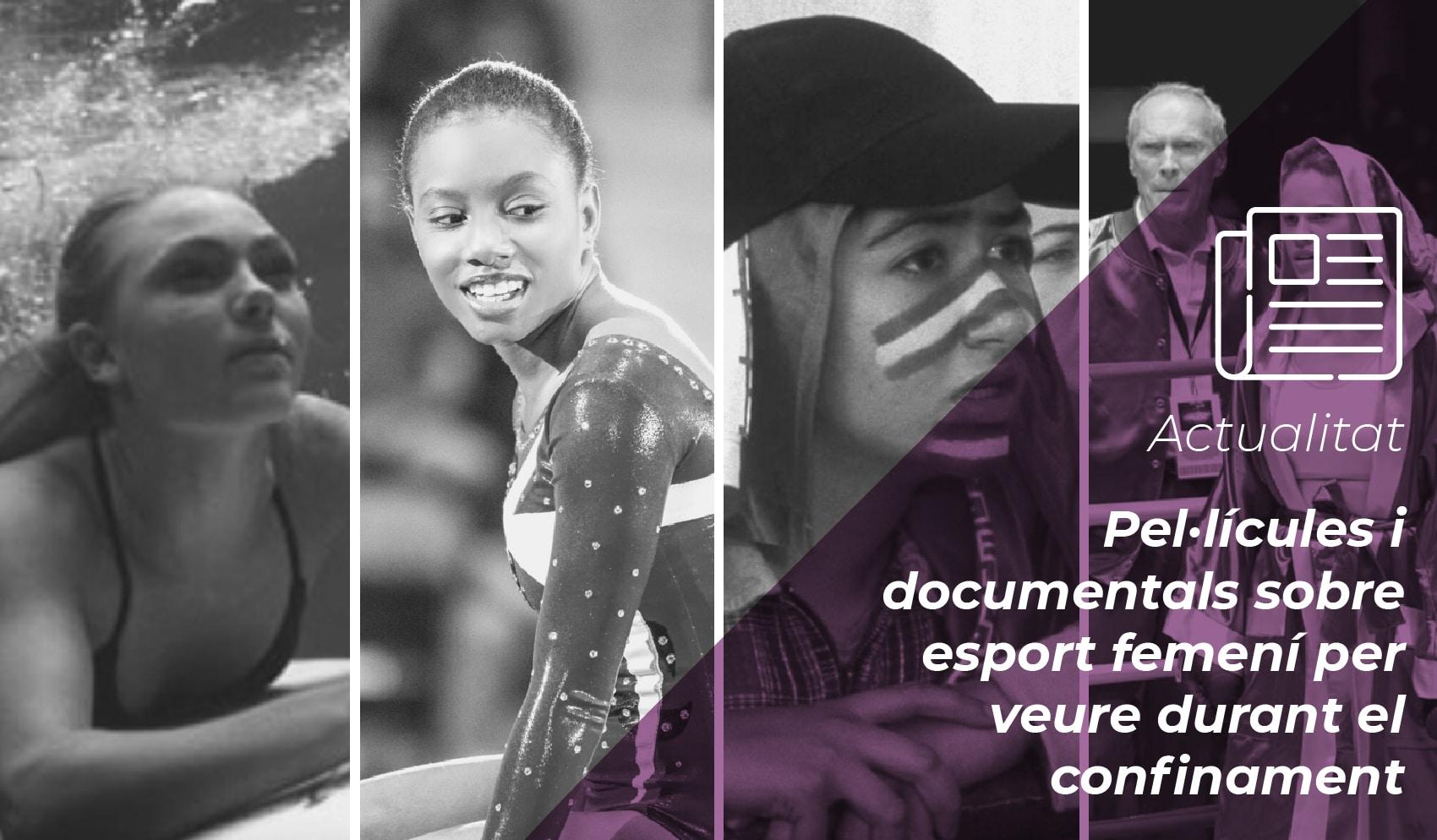 Pel·lícules i documentals sobre esport femení per veure durant el confinament 2