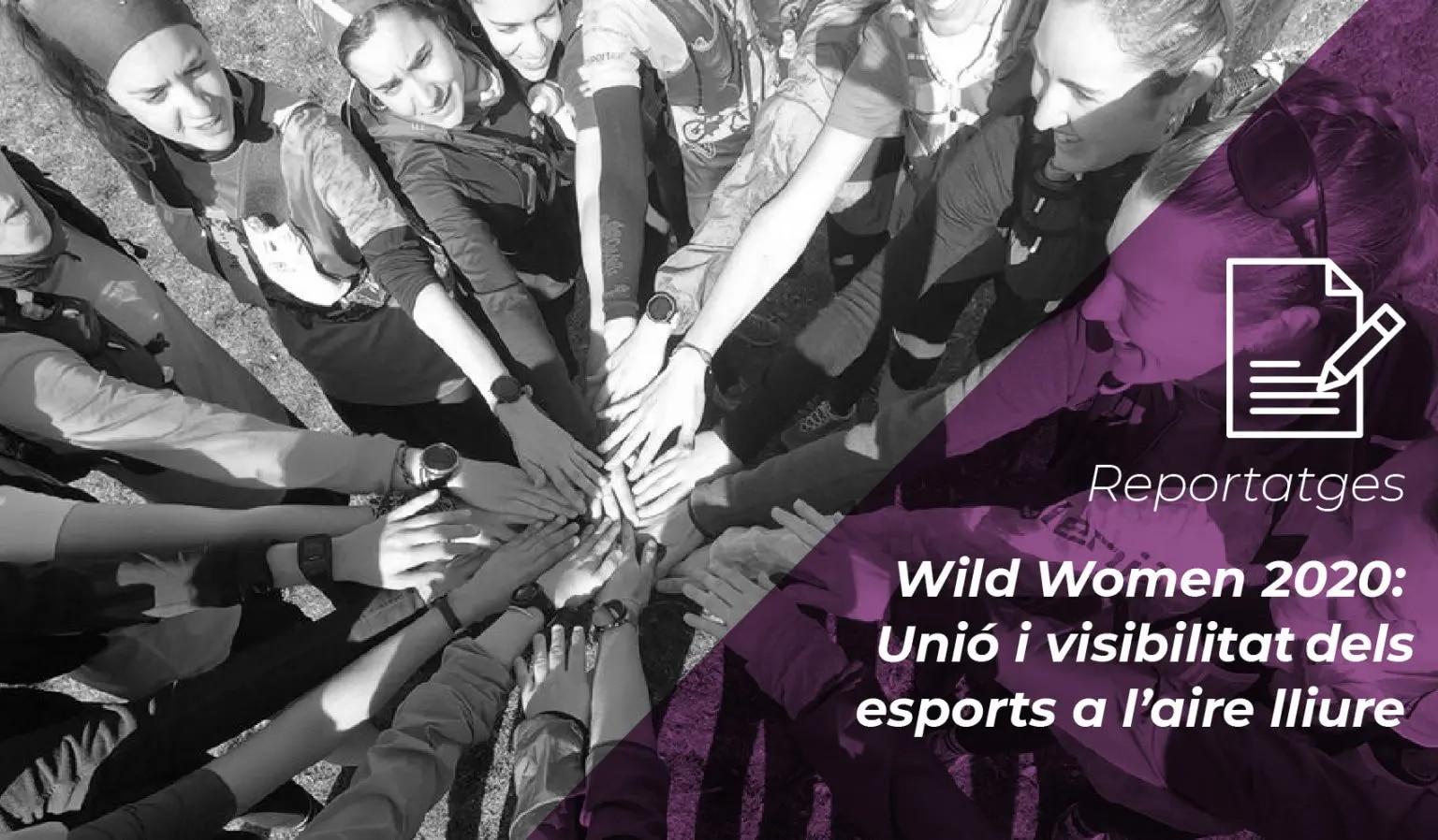 Wild Women 2020: unió i visibilitat dels esports a l'aire lliure 1