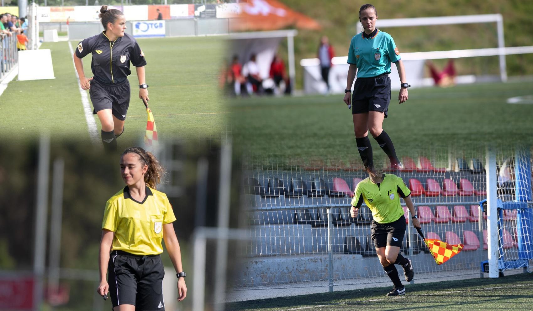 Quatre àrbitres de futbol catalanes, candidates a l'ascens a Primera Iberdrola 5