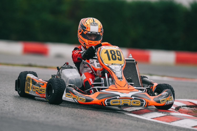 Belén García debuta al campionat mundial de karting 5